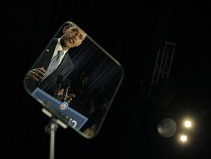 Obama's crutch  (AP Photo)