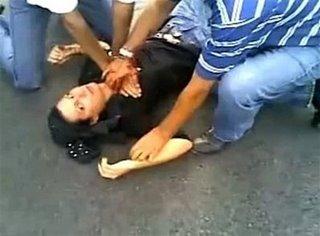 neda Iranina proterst shot dead 6-2009 AFP