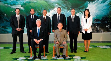 Bill Clinton legitimizing the tyrant Kim Jong Il in North Korea 8-4-09